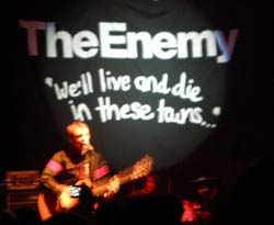 The Enemy - Köln 30.01.2008