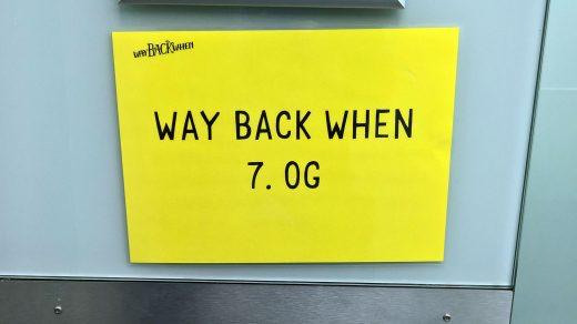 Way back when Festival – Dortmund, 29.09. bis 01.10.2017