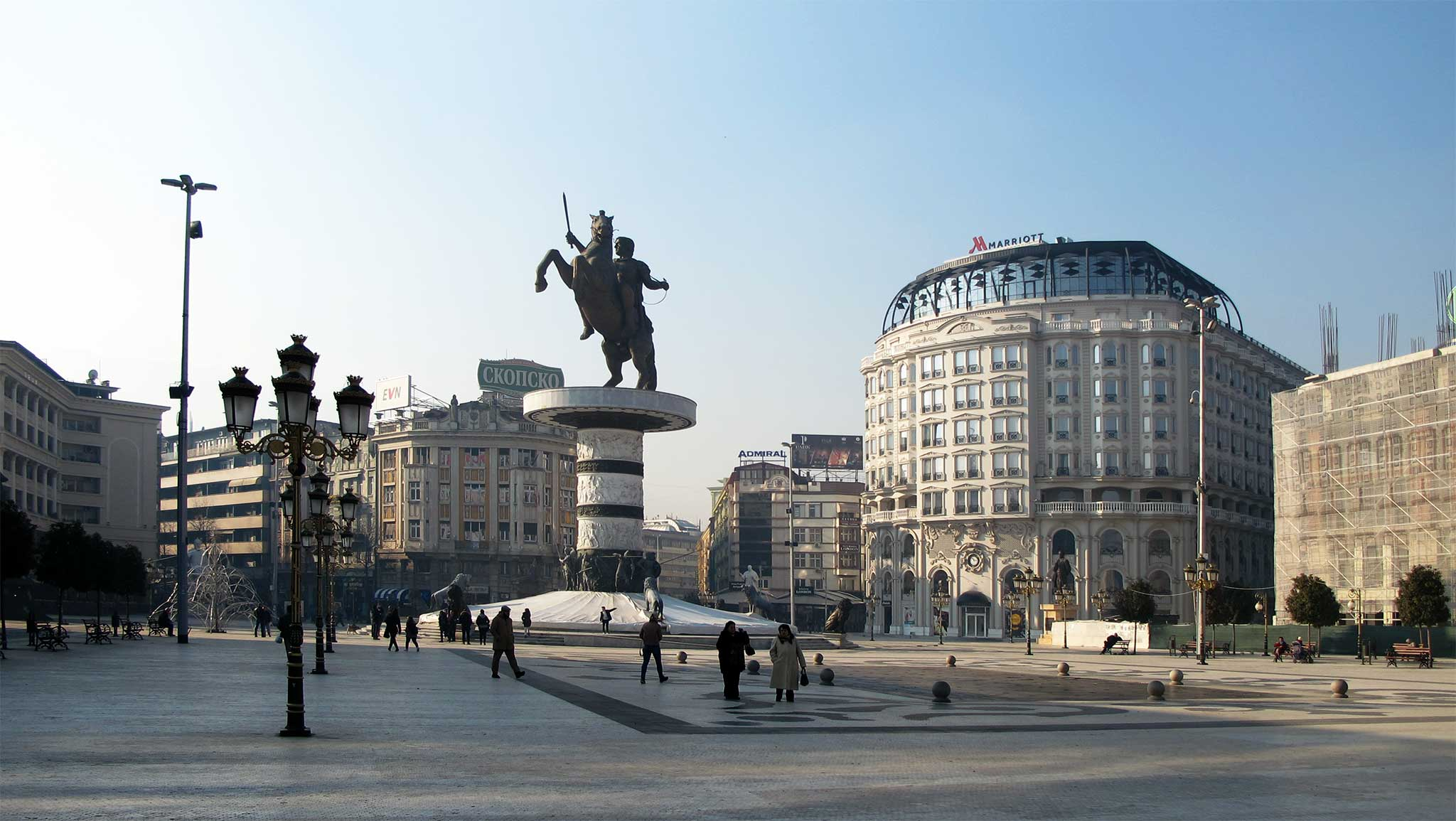 Skopje - Macedonia Square
