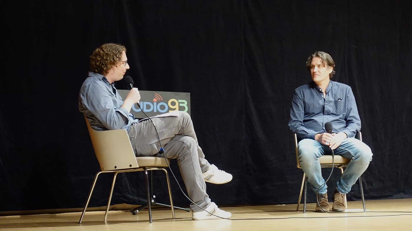 Gesprächsrunde: Phillip Wasmund und Frank Spilker