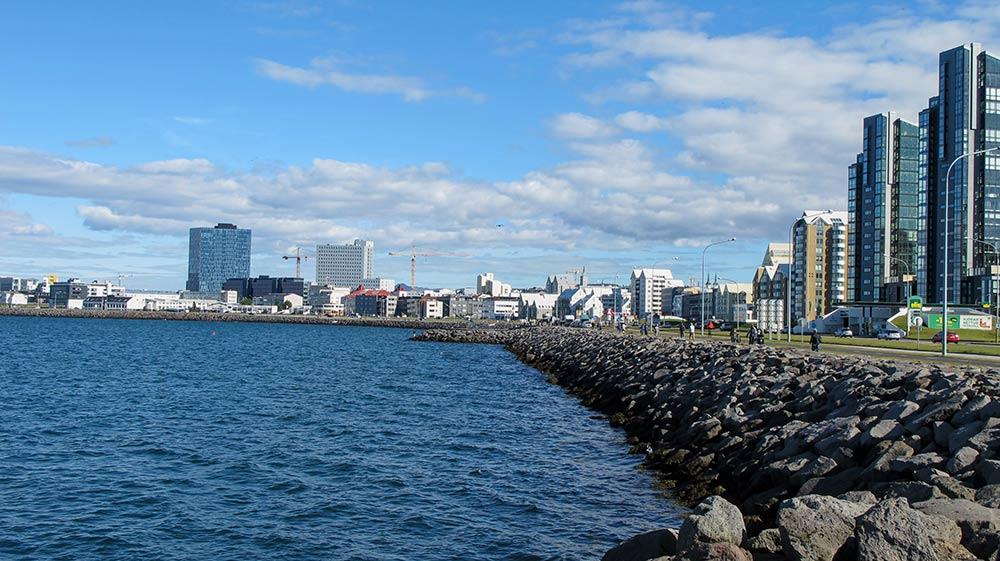 Reykjavík - Küstenstrasse