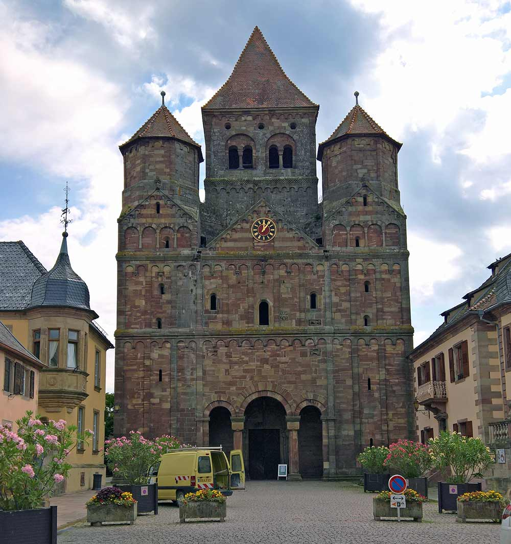 Marmoutier - Kloster