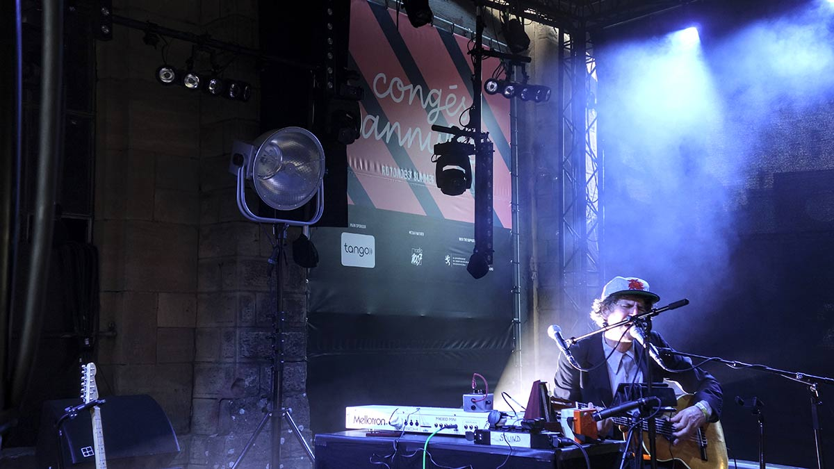 Gruff Rhys at Rotondes, Luxembourg