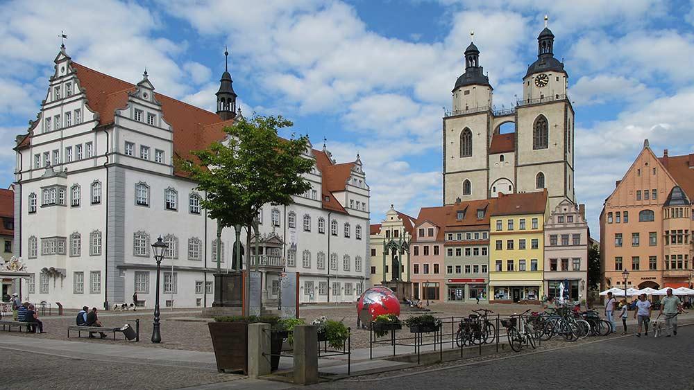 Wittenberg - Stadtansicht